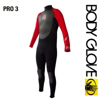 Гидрокостюм Body Glove 2015 Pro3 3/2 Fullsuit Black/Red
