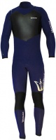 Гидрокостюм Underwave Atlantis Fullsuit (steamer) 5/3 MENS  BLUE